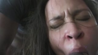 Running Train on Pregnant Mom Lady Red with Cuckold Husband