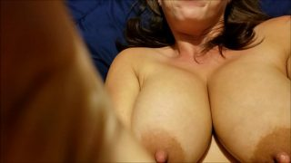 Shaking Huge Tits and Nipples in Slow Motion and Hard Sex Creampie